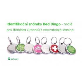 Identifikační známka pro kočku Red Dingo - Velká Británie