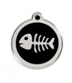 Identifikační známka pro kočku Red Dingo - fishbone