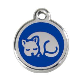 Identifikační známka pro kočku Red Dingo - kočka