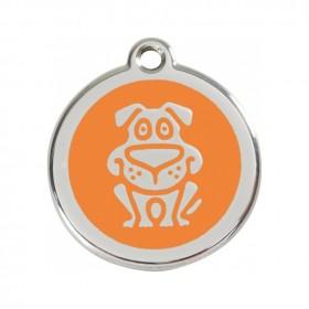 Střední známka pro psa Red Dingo - pes oranžový