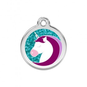 Identifikační známka pro kočku Red Dingo - jednorožec