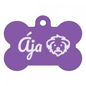 Opravdu originální gravírování známky pro psa dle vlastního návrhu, který si sami vytvoříte na našem eshopu.