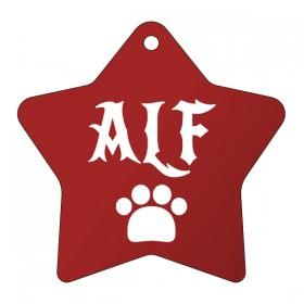 Eloxovaná psí známka s rytinou dle vlastního návrhu, který si sami vytvoříte na eshopu www.petway.cz